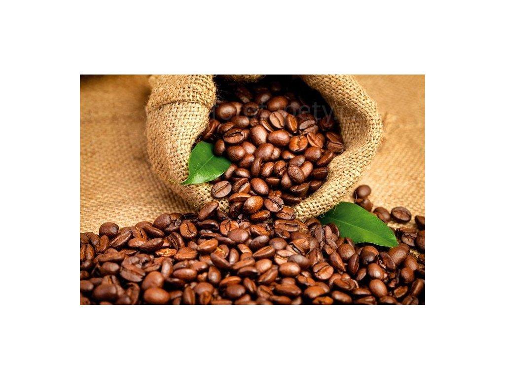 Samolepící fototapeta na podlahu - Kávová zrna, 255x170cm, 012