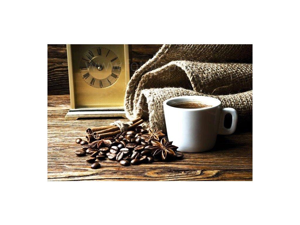 Samolepící fototapeta na podlahu - Šálek kávy, 255x170cm, 033