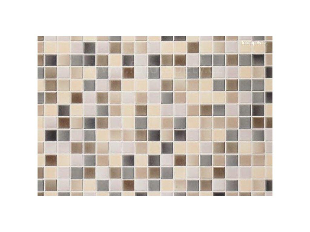 Dekorační obklad stěny - Kachličky - béžová mozaika