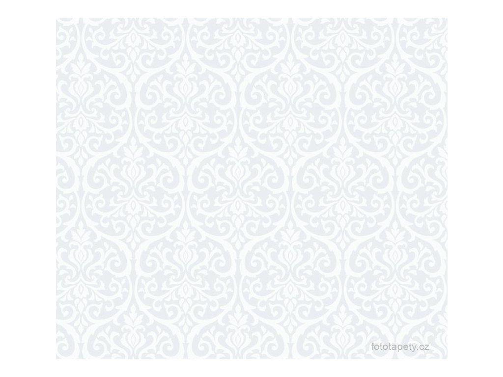 Transparentní samolepící folie šíře 45cm, vzor Alba, doprodej