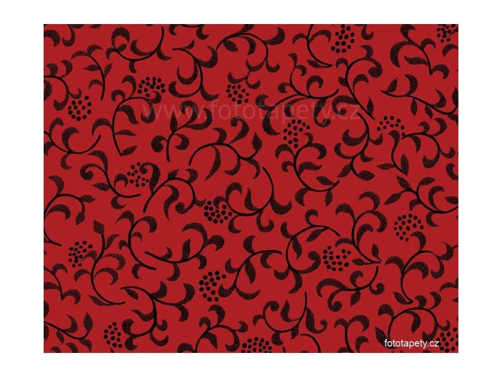 Samolepící tapeta d-c-fix Decor, vzor Sonja - červená