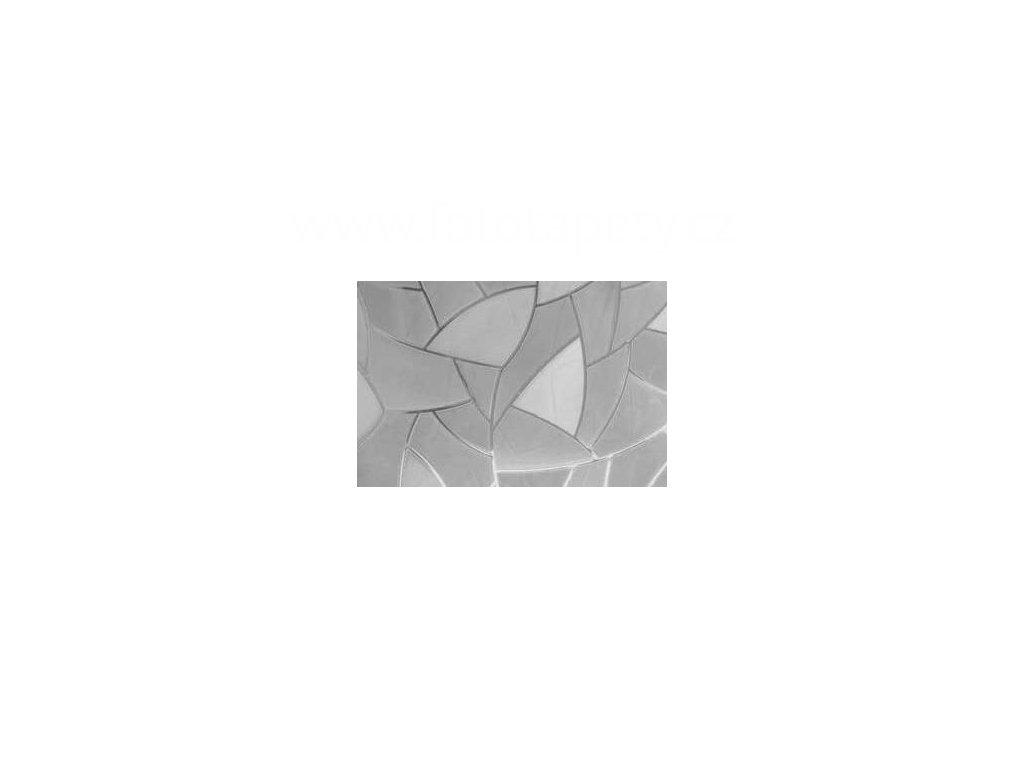 Transparentní samolepící folie šíře 45cm, vzor Střípky
