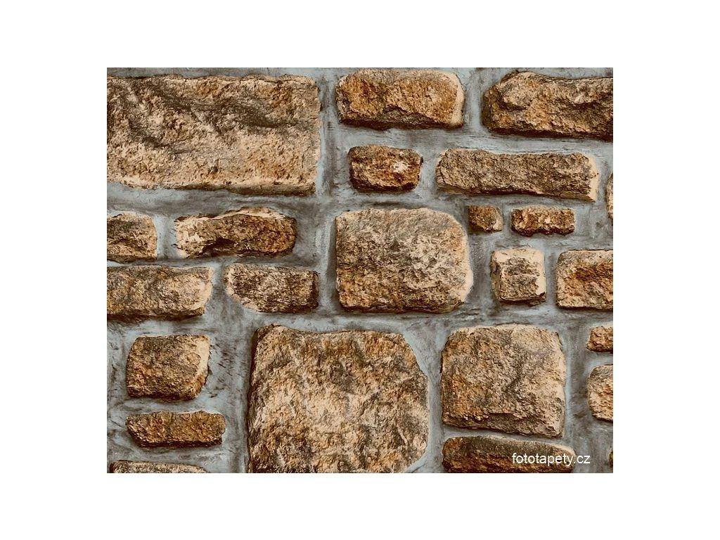 Samolepící folie  imitace přírodního materiálu, Kamenná zeď III,doprodej