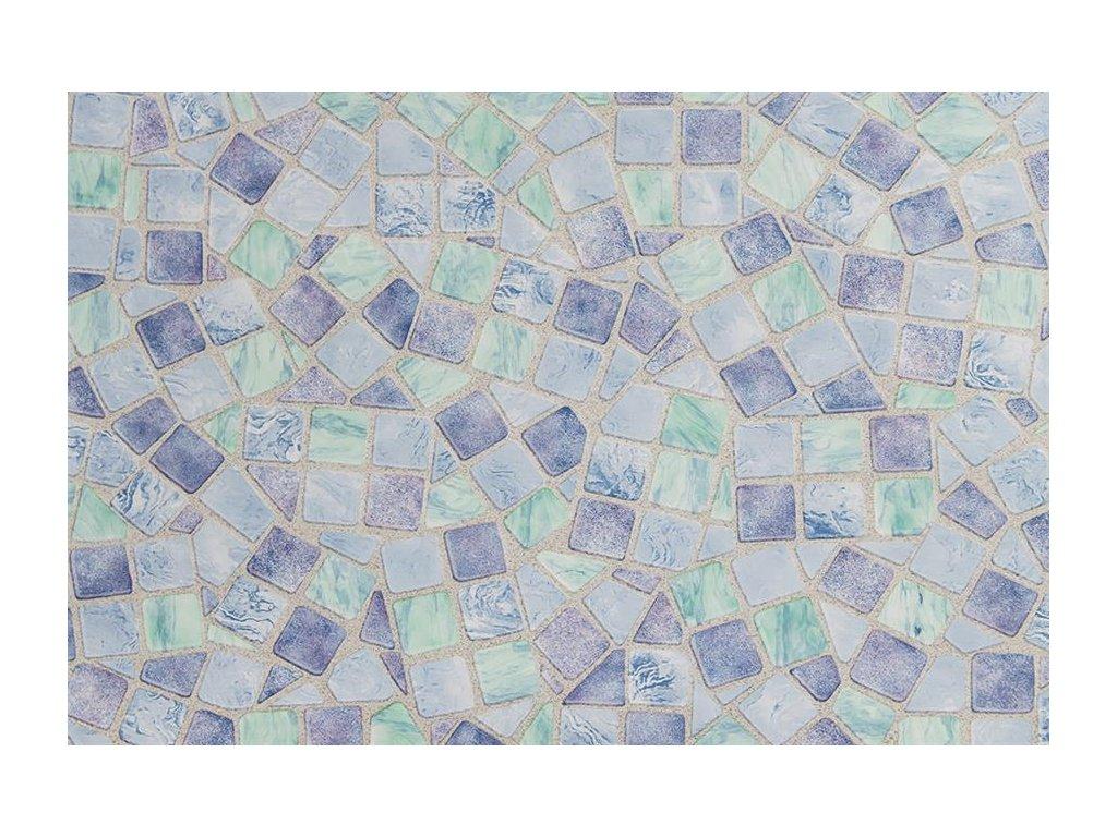 Samolepící folie d-c-fix, vzor Modrá mozaika, doprodej