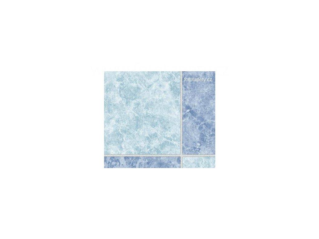 Samolepící folie imitace obkladaček, Modré kachličky ( 15 x 18 cm ), doprodej