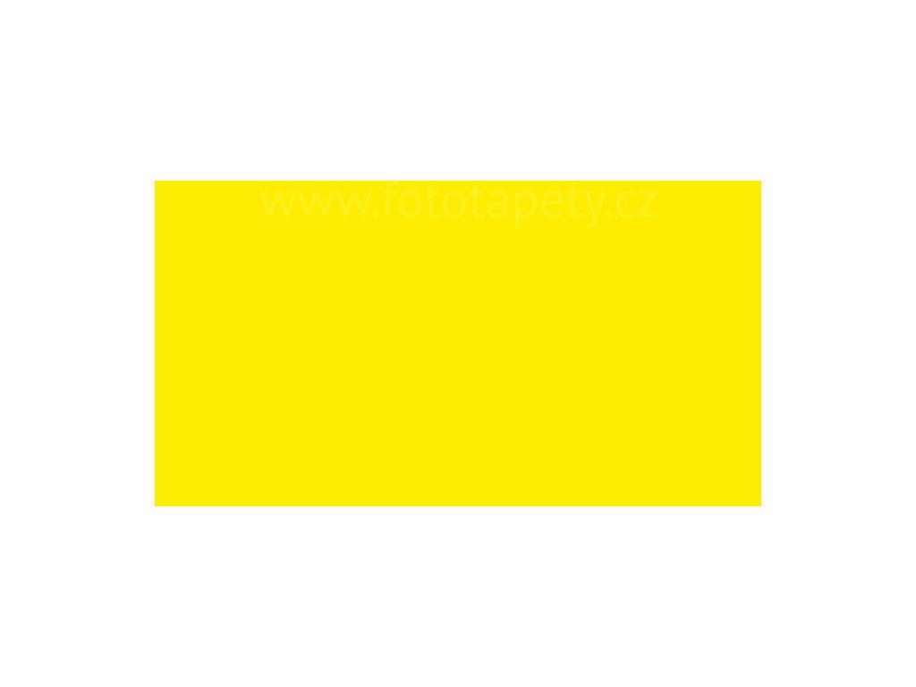 Samolepící tapeta jednobarevná fluorescenční, žlutá