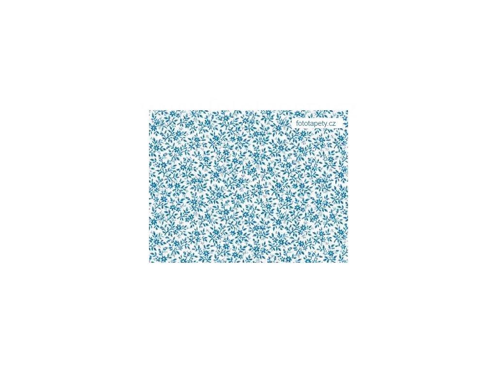 Samolepící fólie Decor, Modré květy