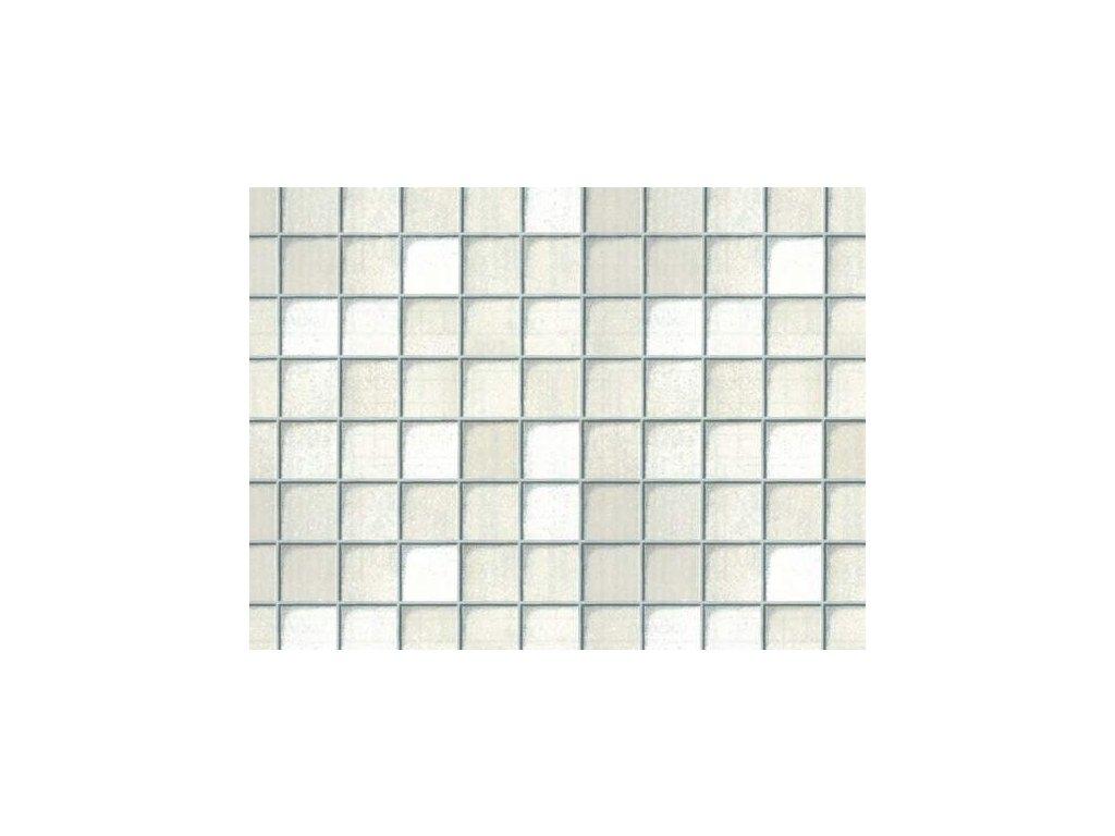 Samolepící folie imitace obkladaček, mozaika bílá