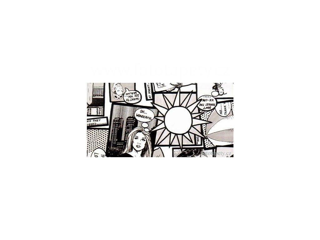 Samolepící fólie decor, Comic - Komiks