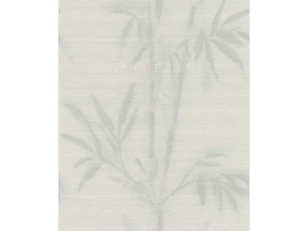 Vliesová tapeta na zeď Rasch 529166 - Šedý bambus, kolekce Mandalay 0,53 x 10,05 m