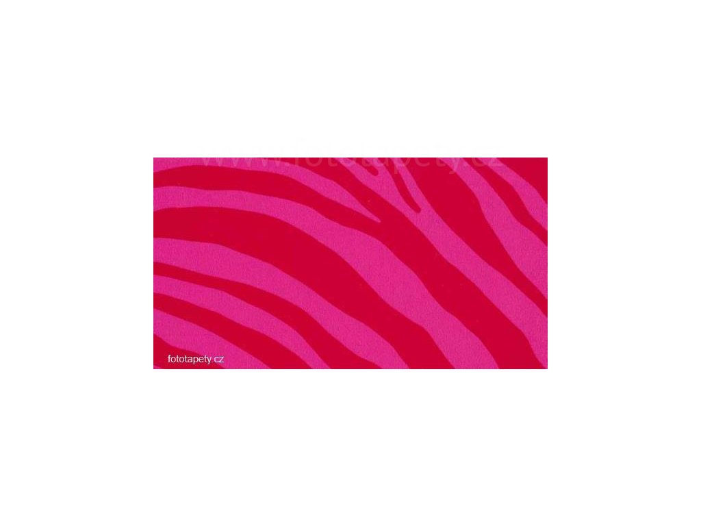 Samolepící fólie decor, Růžová zebra