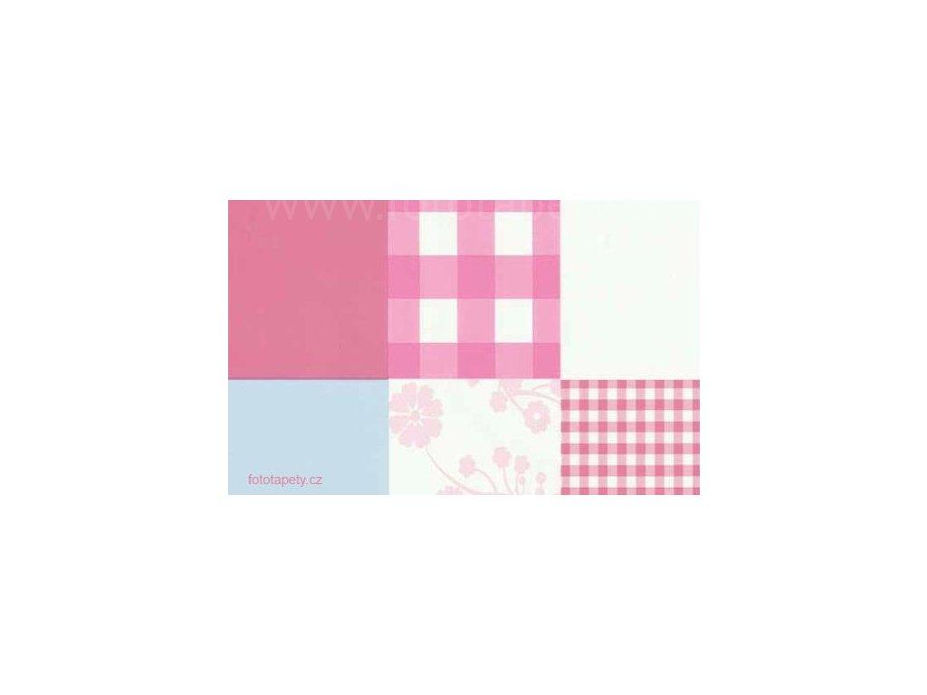 Samolepící fólie imitace Decor, Patch work II