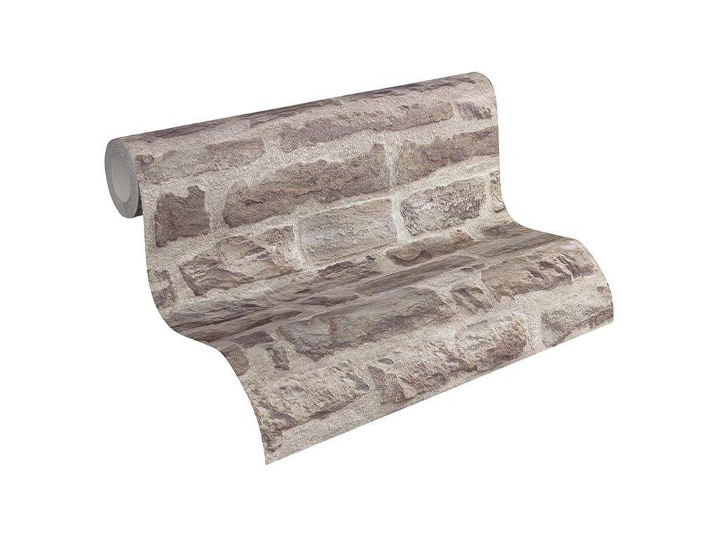 Vliesová tapeta na zeď Best of Wood & Stone 2, 0,53x10,05m, 3194-41 - kamenná zeď