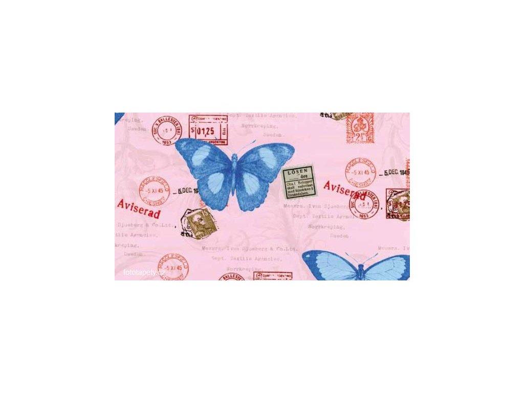 Samolepící dětská  fólie Decor - Motýli