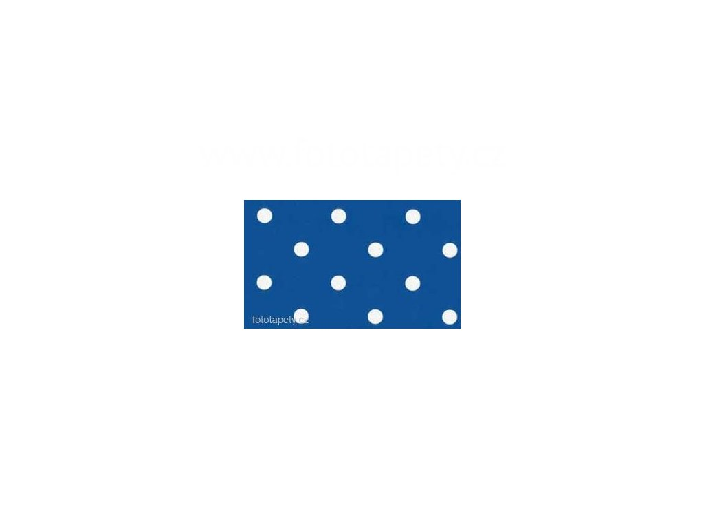 Samolepící fólie imitace Decor, Modré puntíky