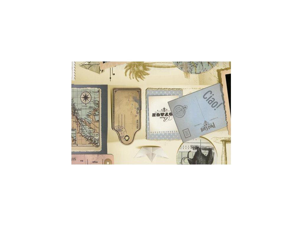 Samolepící fólie imitace Decor, Album s výstřižkami