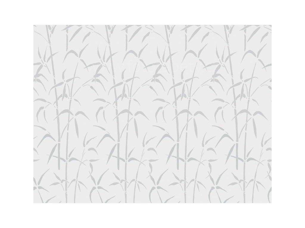 Folie 1-2-3-static, bez lepidla, Bamboo, drží statickou silou, mnohonásobné použití