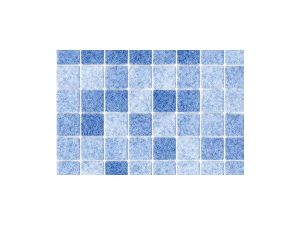 Samolepící folie imitace obkladaček, Modrá mozaika, doprodej