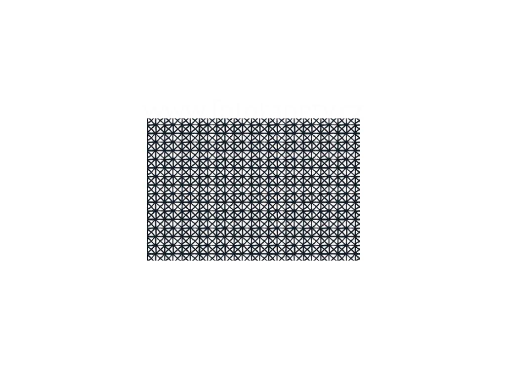 Samolepící fólie imitace Decor, Andy- černobílá - skladem posledních 1 m