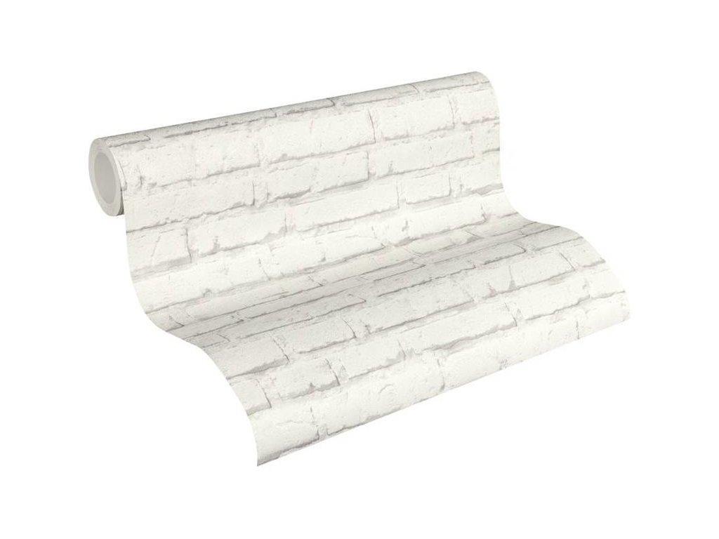 Vliesová tapeta na zeď Best of Wood & Stone 2, 0,53x10,05m, 3439-92 - cihlová zeď