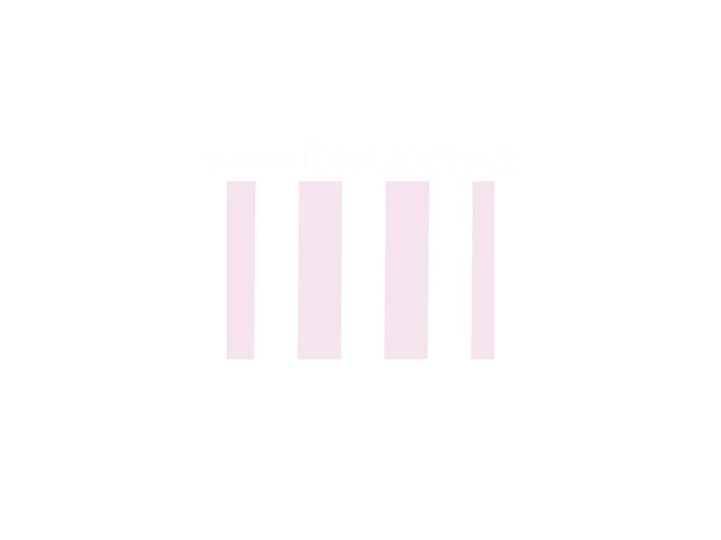 Samolepící fólie imitace Decor, Růžovo bílé pruhy