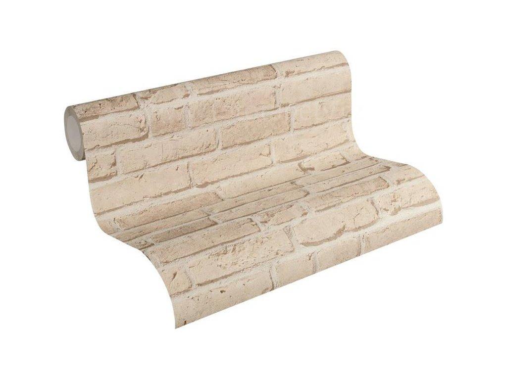 Vliesová tapeta na zeď Best of Wood & Stone 2, 0,53x10,05m, 3558-12 - cihlová stěna