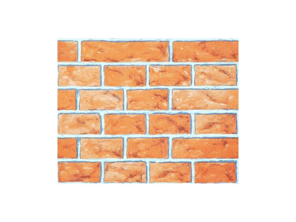 Papírová tapeta na zeď - cihla, 0,53x10,05m, 1401701