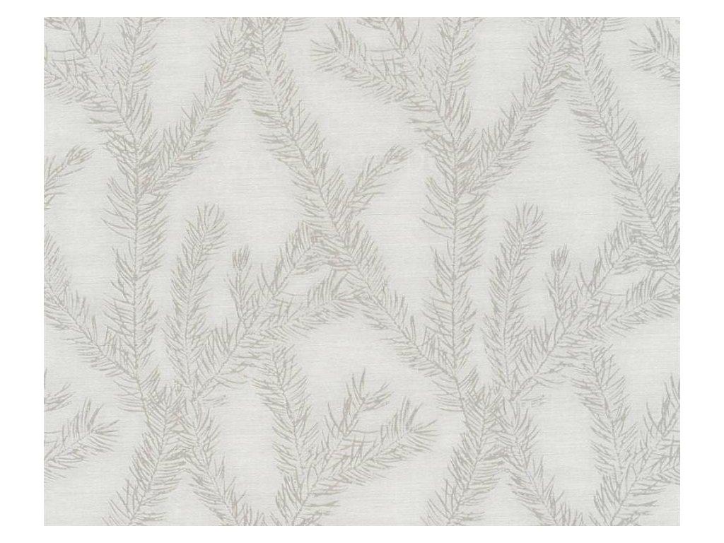Vliesová tapeta Four Seasons, 0,53x10,05m, 3589-82 - šedé větvičky