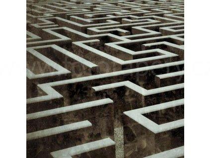 Samolepící fototapeta na podlahu - Labyrint, 170x170cm, 015