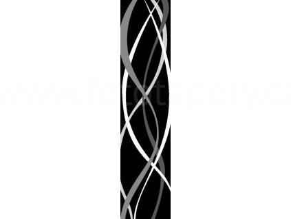 Samolepící dekorativní pás Retro, 3 archy o velikosti 47x68cm, skladem poslední 1ks!!
