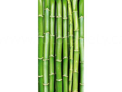Samolepící fototapeta na podlahu - Bambus, 85x170cm, 020