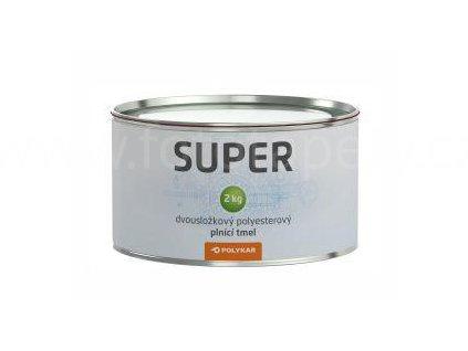 Tmel Polytmel SUPER - univerzální, plnící, rychlý, střední hrubost, tmelení kovů, litiny