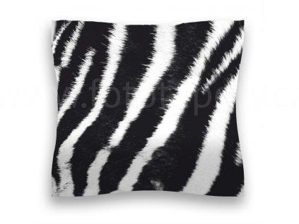 Dekorační foto polštářek Zebra, 45x45cm, CN3605