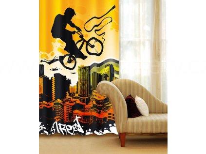 Foto závěs Žluté kolo, 140x245cm