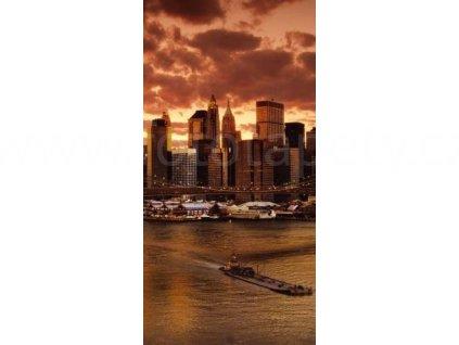 Samolepicí fototapeta na dveře New York, 95x210 cm, D001