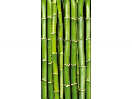 Samolepící fototapeta na dveře - Bambus, 95x210 cm, D021