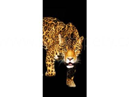 Samolepící fototapeta na dveře - Panther, 95x210 cm, D058