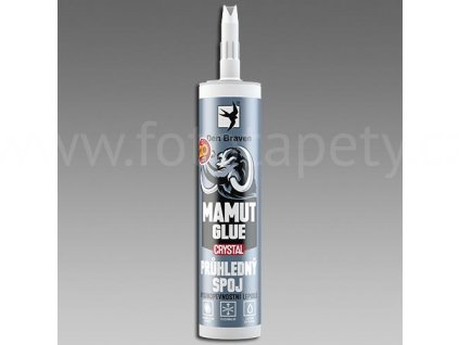 Lepidlo MAMUT crystal - transparentní - 290ml, 25ml