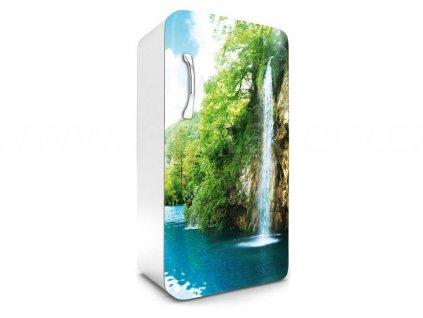Samolepící fototapeta na lednici - Vodopád, 65x120cm, 010