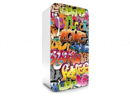 Samolepící fototapeta na lednici - Graffiti, 65x120cm, 015