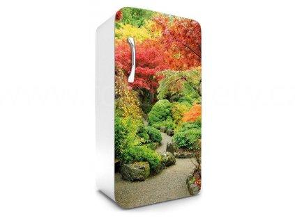 Samolepící fototapeta na lednici - Japonská zahrada, 65x120cm, 029