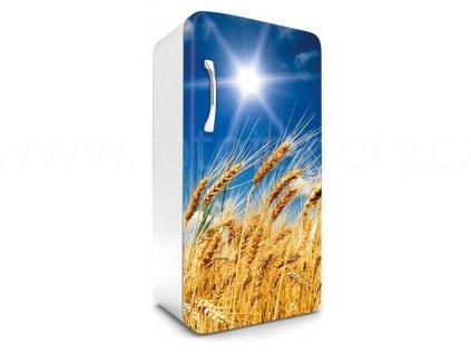 Samolepící fototapeta na lednici - Pšeničné pole, 65x120cm, 030