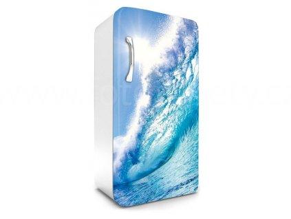 Samolepící fototapeta na lednici - Vlny, 65x120cm, 033