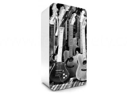 Samolepící fototapeta na lednici - Kytary, 65x120cm, 035