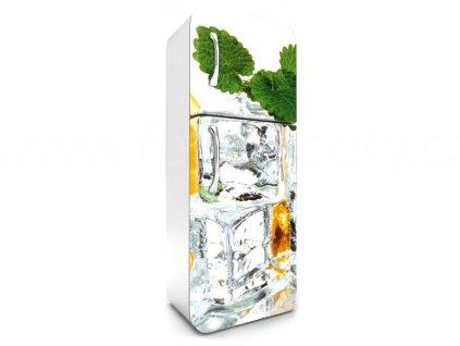 Samolepící fototapeta na lednici - Kostky ledu, 65x180cm, 023,skladem
