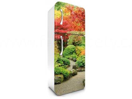 Samolepící fototapeta na lednici - Japonská zahrada, 65x180cm, 029