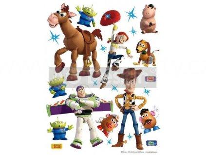 Dětská samolepka na zeď Příběh hraček (Toy story), 65x85 cm, DK 1771