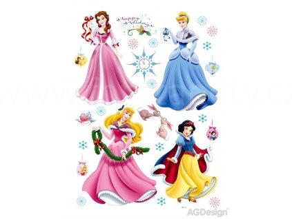 Dětské samolepky na zeď Princezny a sněhurka, 65x85 cm, DK 888