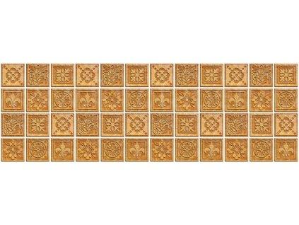 Samolepící fototapeta do kuchyně - Žulové kachličky, 180x60cm, 080