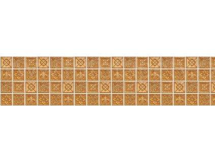 Samolepící fototapeta do kuchyně - Žulové kachličky, 260x60cm, 080